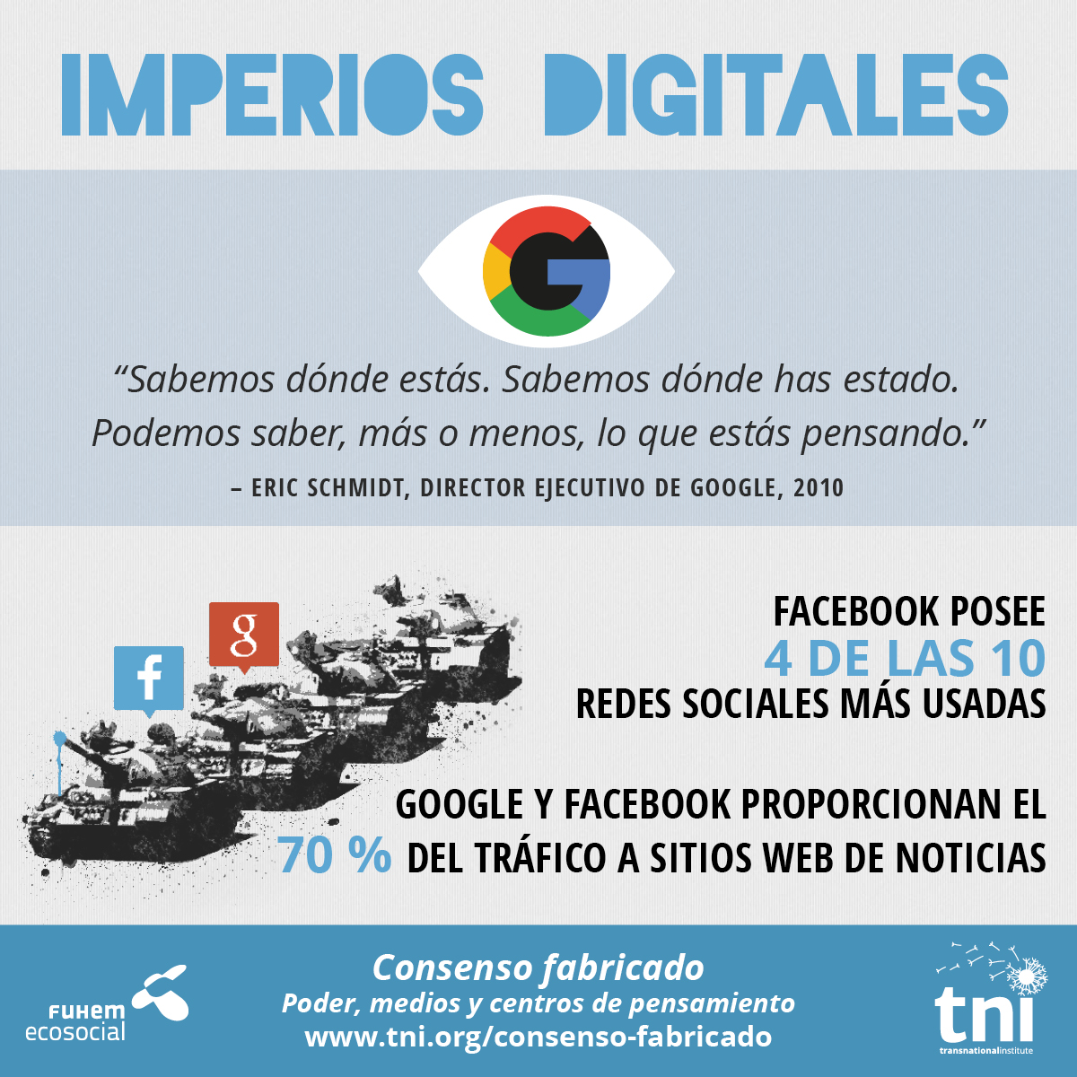 Extracto de la infografía 'Consenso fabricado' (www.tni.org/consenso-fabricado)