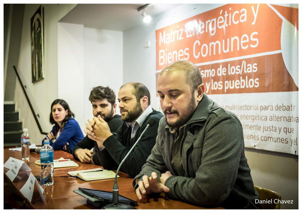 """Daniel Gaio: """"Debemos enfrentar las intenciones privatizadas de Michel Temer en los sectores de energía, agua y saneamiento""""."""
