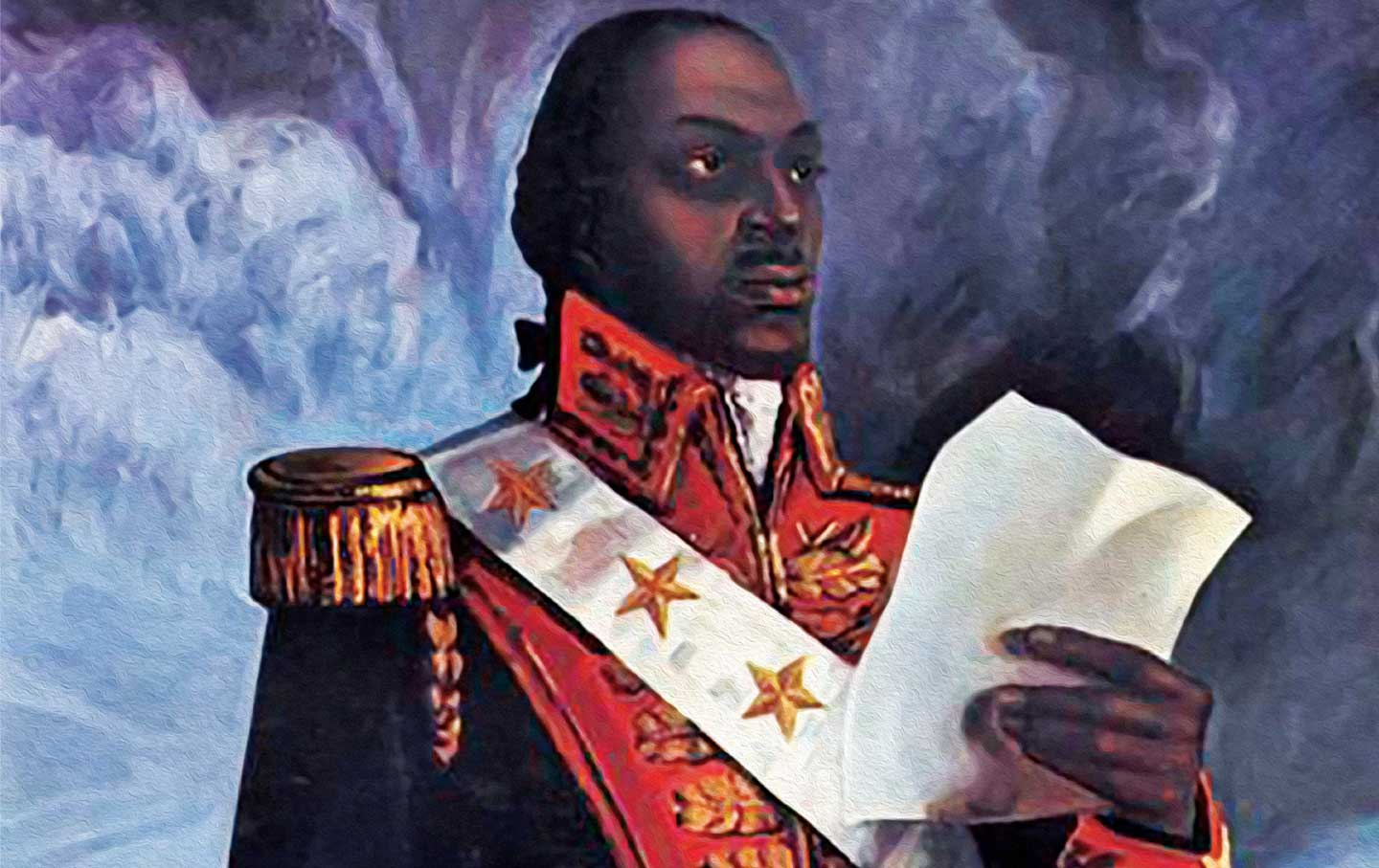 Toussaint Louverture helped successfully lead the  only slave uprising (in 1791) that created the first independent post-colonial state which was both free from slavery.