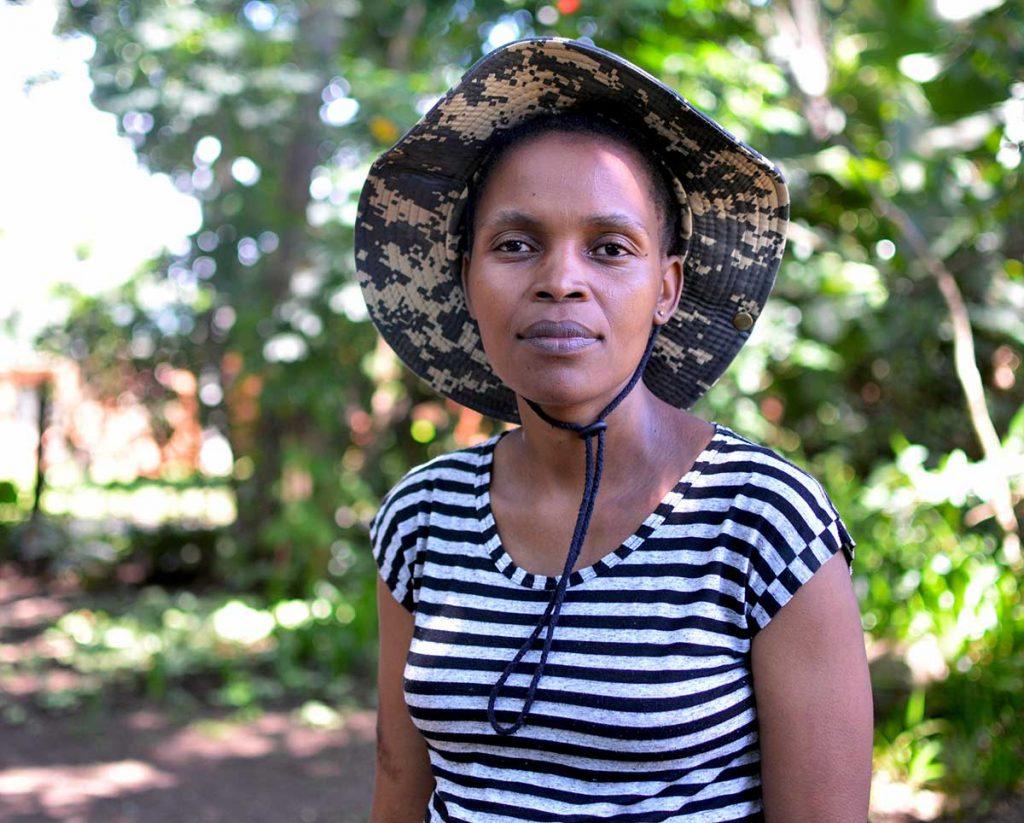Nonhle Mbuthuma. Photo credit: Mark Olade