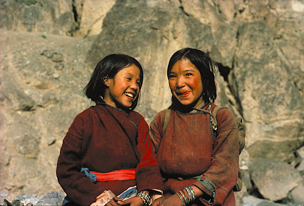 Ladakhi girls. Photo credit: Helena Norberg-Hodge