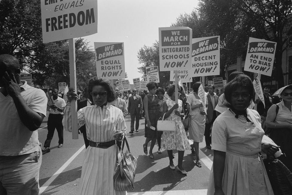 Shareholder activism emerged with the civil rights movement. Credit: Wikimedia